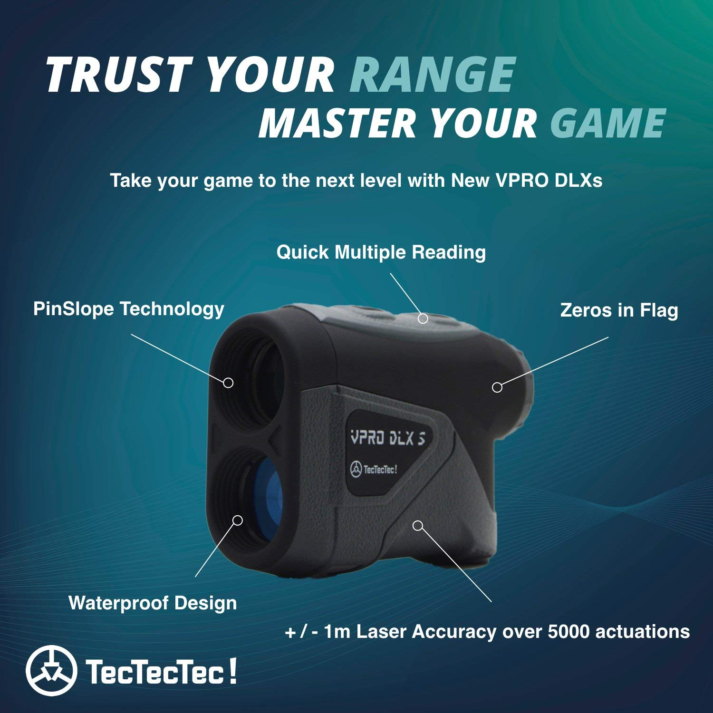 TecTecTec VPRO DLXS Slope Rangefinder Black