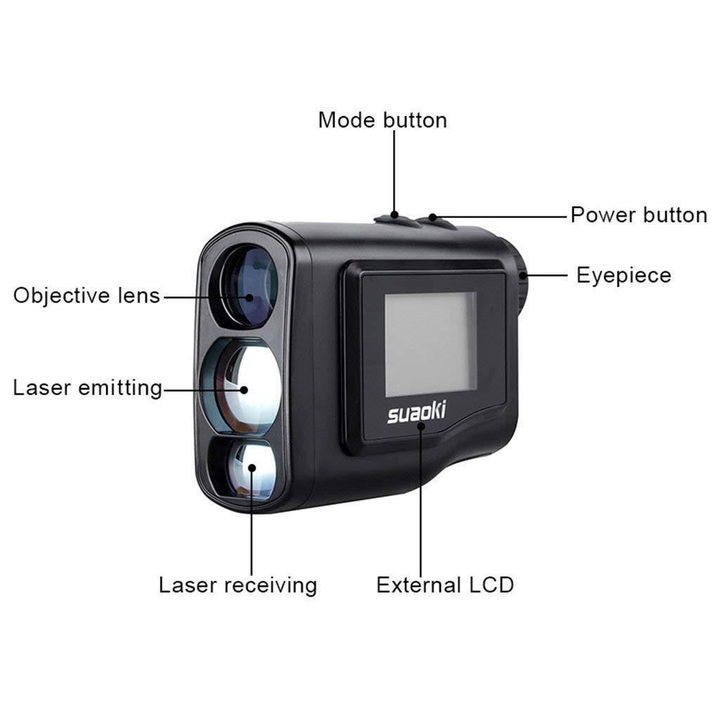 Features of SUAOKI 600M Digital Laser Rangefinder