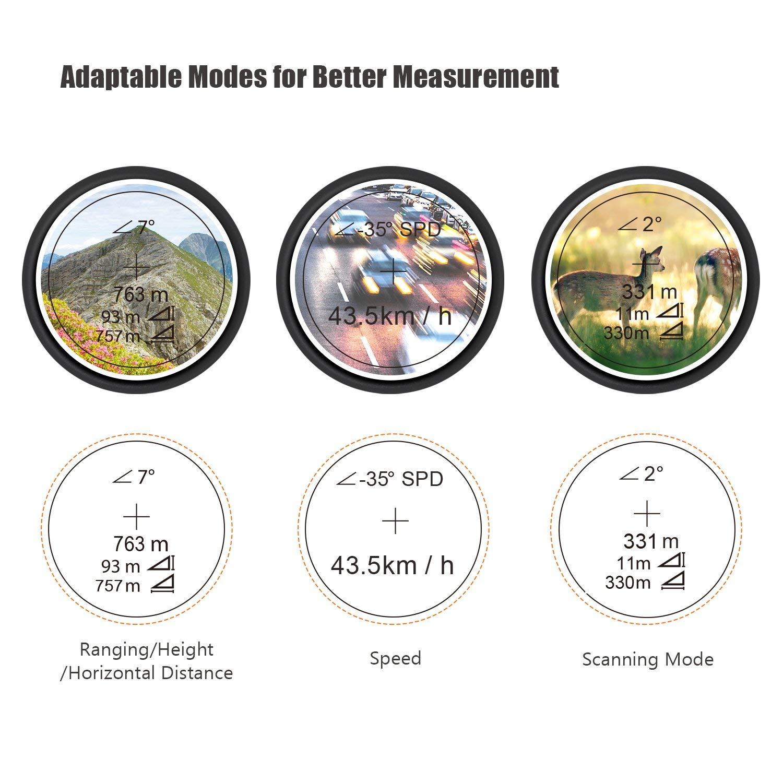 Features of Tacklife MLR01 Laser Rangefinder For Hunting