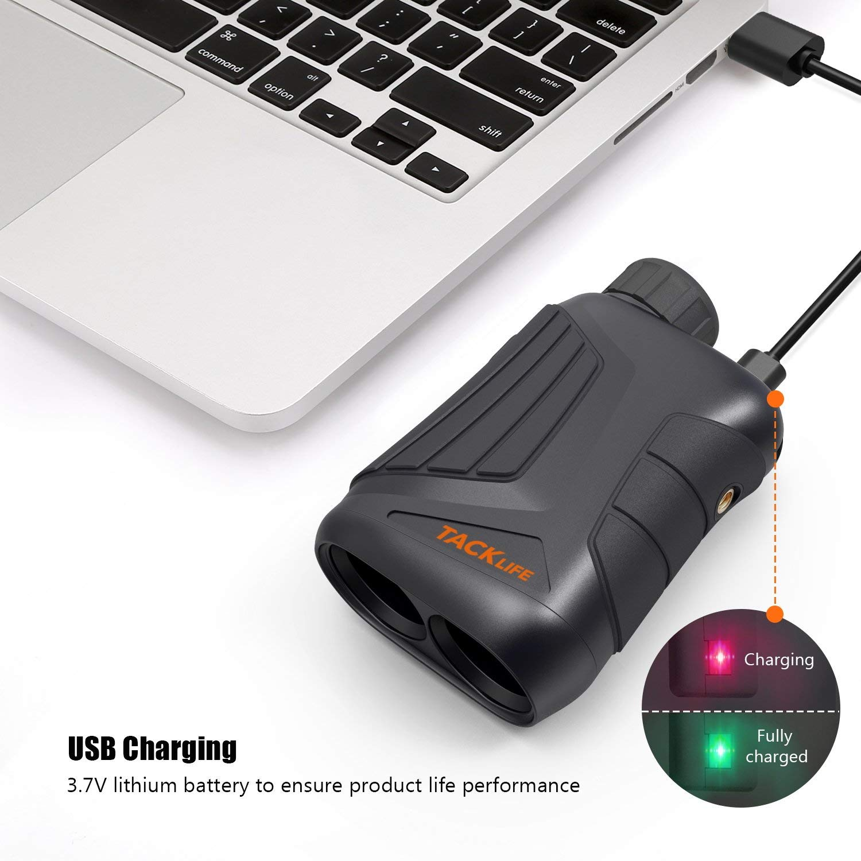 Tacklife MLR01 USB charging