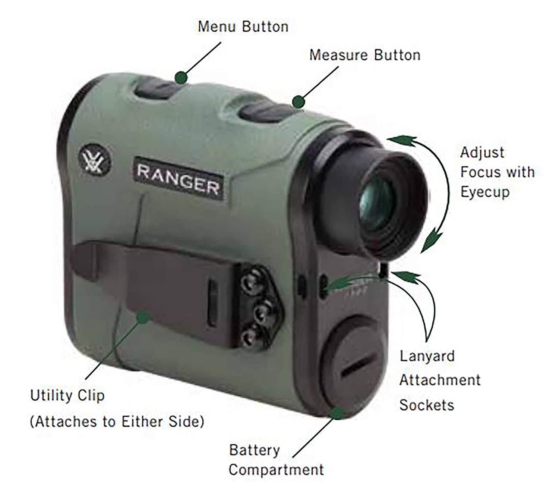 Vortex Ranger 1300 yards rangefinder