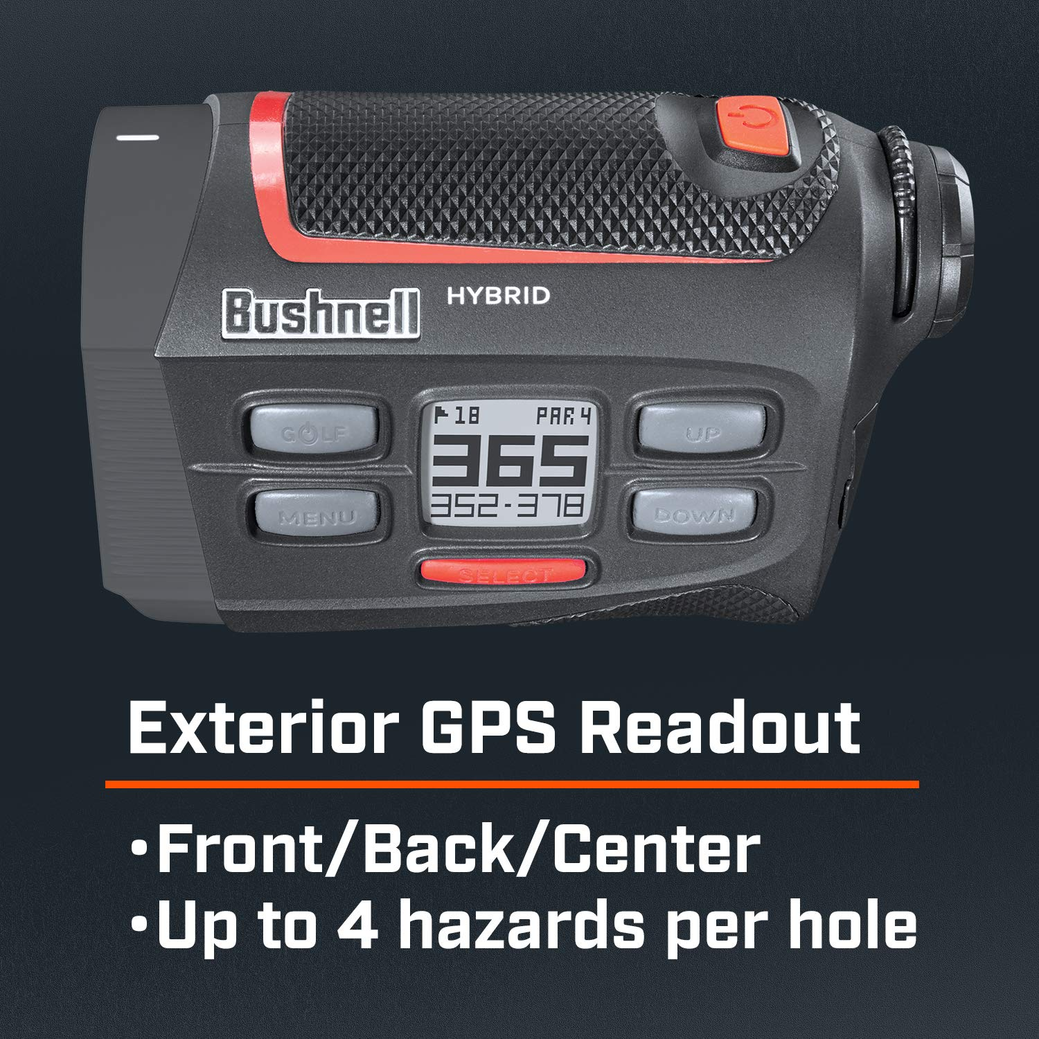 Bushnell Hybrid laser rangefinder with built-in GPS
